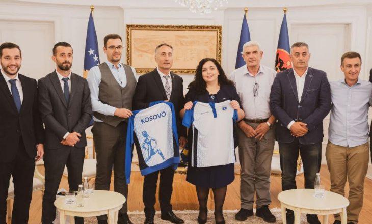"""Osmani takon Komitetin Olimpik të Kosovës, pak para Lojërave Olimpike """"Tokio 2020"""""""