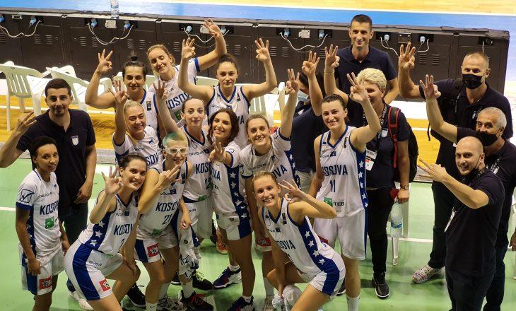 Përfaqësuesja e Kosovës në basketboll fiton medaljen e bronztë në Kampionatin Evropian
