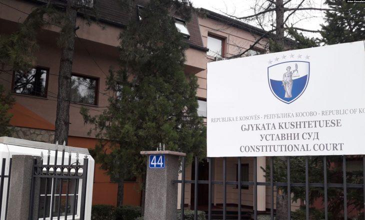 Gjykata Kushtetuese nuk e pranon kërkesen e Osmanit për zgjedhjen e anëtarëve të KQZ-së