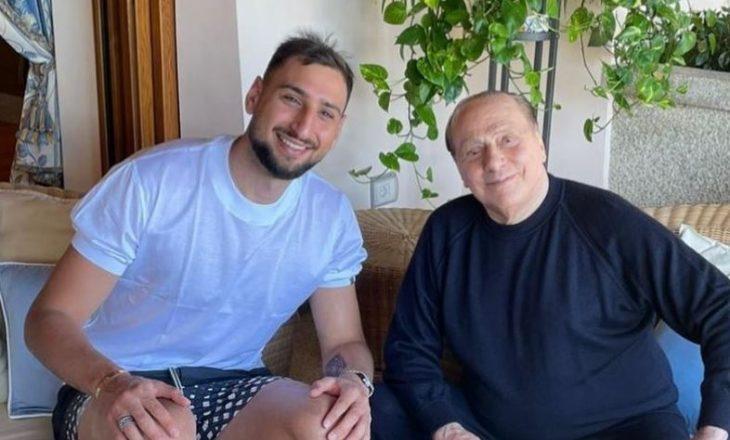Donnarumma takon Berlusconin