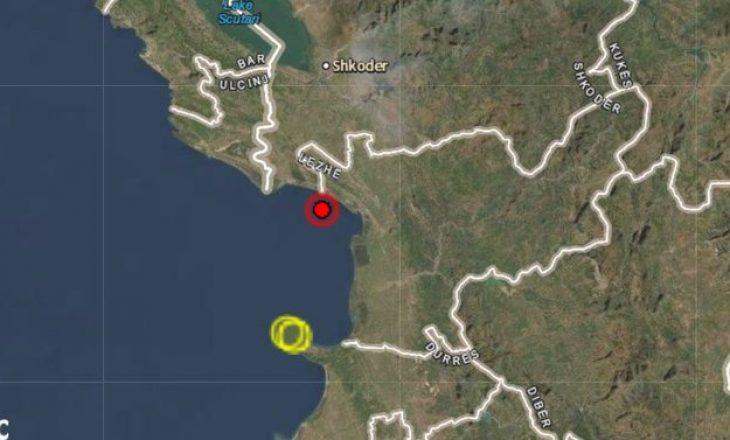 Lëkundje tërmeti në Detin Adriatik