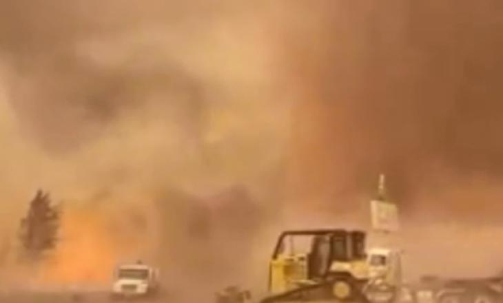 Kaliforni: Tornado shkatërrues me zjarr për shkak të motit ekstrem