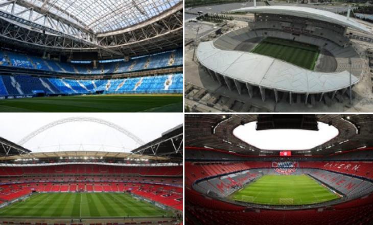 """UEFA zbulon stadiumet për katër vitet e ardhshmë ku do të luhet finalja e """"Champions"""""""