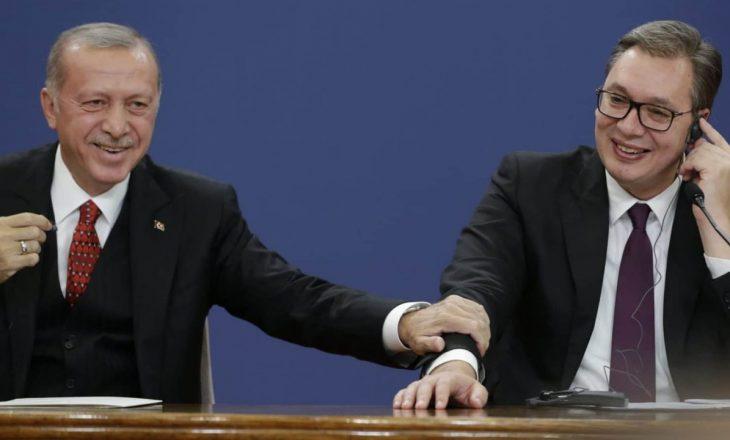 Vuçiqi i përgjigjet Erdoganit për Kosovën