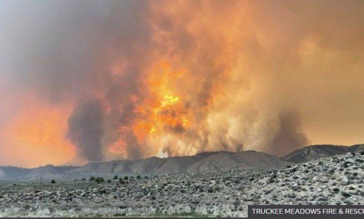 Zjarre të mëdha në perëndim të Amerikës nga temperaturat e larta