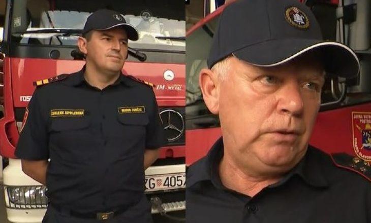 Zjarrfikësit kroatë që shpëtuan pasagjerët e autobusit: Asgjë nuk mund t'ju përgatisë për skena të tilla