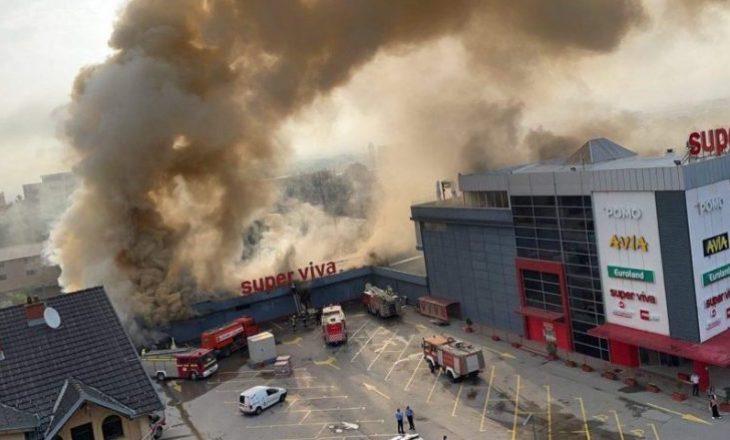 Përfshihet nga zjarri një objekt në Lipjan