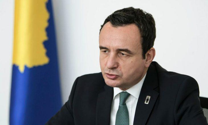 Kurti kërkon që BE-ja ta bëjë zgjerimin më të drejtë dhe të ndershëm ndaj Ballkanit Perëndimor