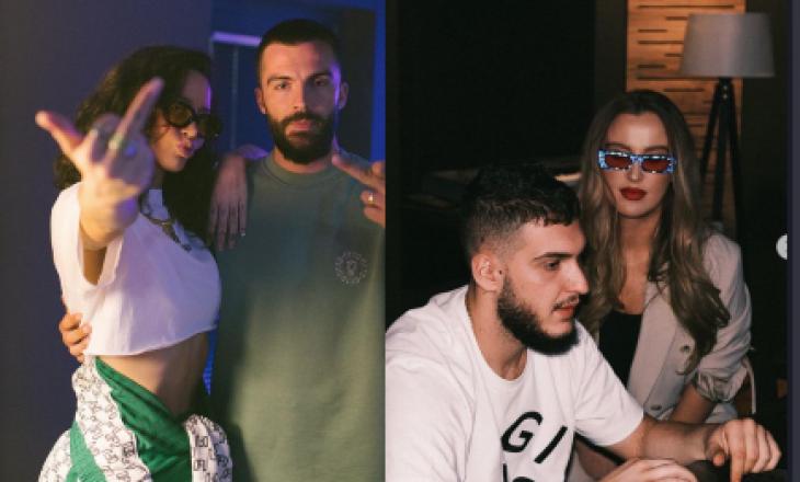 Dafina sjell fotografi nga përgatitja e albumit me Tunën, Elinel dhe producentin Rzon