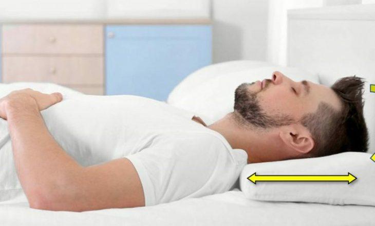 Pozicioni i fjetjes tregon për personalitetin dhe shëndetin tuaj