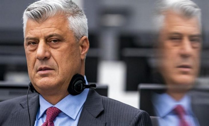 Caktohet paneli i Apelit që do të vendosë për ankesën e Thaçit lidhur me vazhdim të paraburgimit