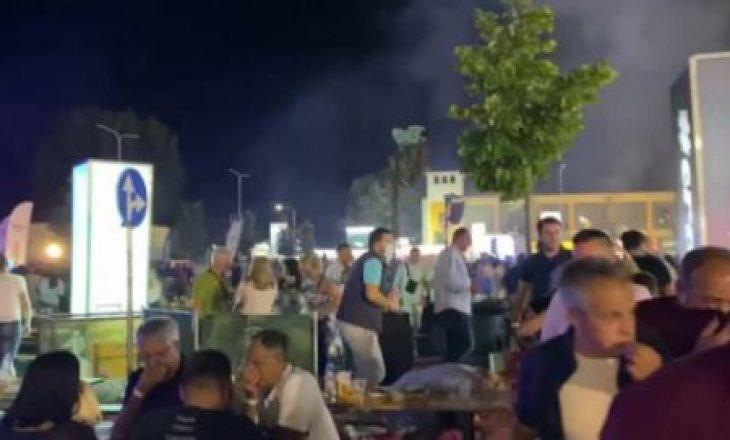 Arrestohet personi që hodhi gaz lotsjellës në festivalin ku këndoi Bregoviqi