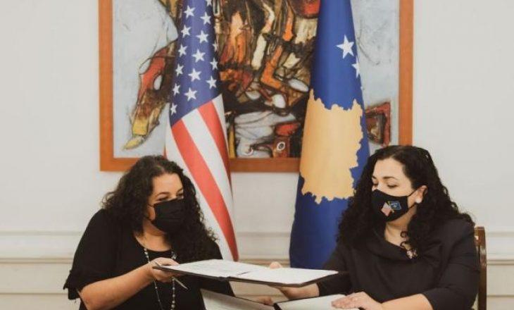 Osmani nënshkruan marrëveshje me SHBA-të në vlerë të 3.8 milionë dollarë