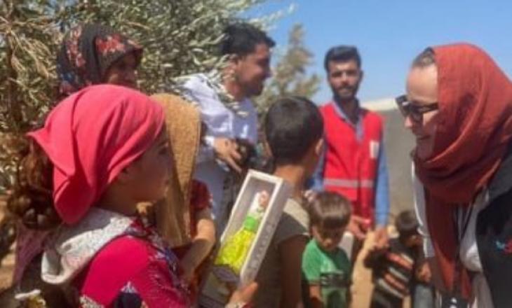 Tuna zbarkon në një nga zonat më të rrezikshme në Siri