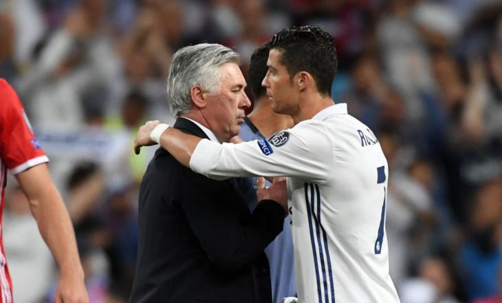 Ancelotti mohon të ketë kërkuar kthimin e Ronaldos