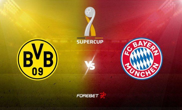 Borussia Dortmund – Bayern Munchen: Formacionet zyrtare