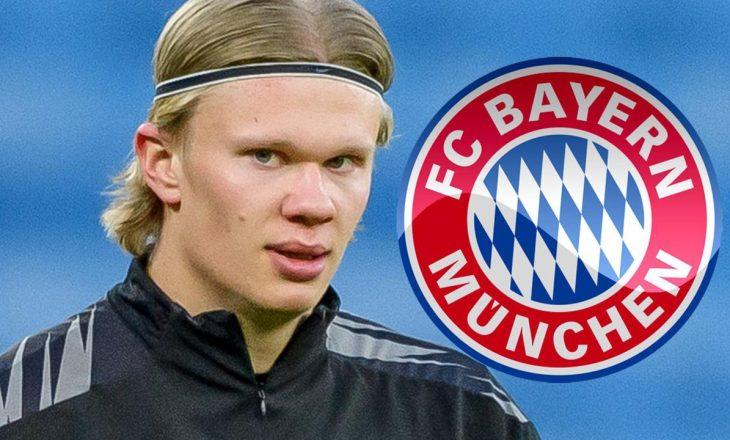Bayern Munchen edhe zyrtarisht në garë për Haaland