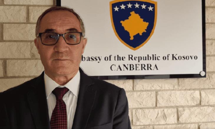 """""""E mbylla ambasadën, askush s'erdhi t'i marrë çelsat"""", ish-ambasadori kosovar në Australi përfundon misionin"""