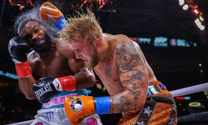 Jake Paul mposht ish-kampionin e UFC-së, Tyron Woodley