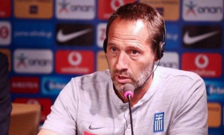 Trajneri i Greqisë shprehet se është optimist për rezultat pozitiv ndaj Kosovës