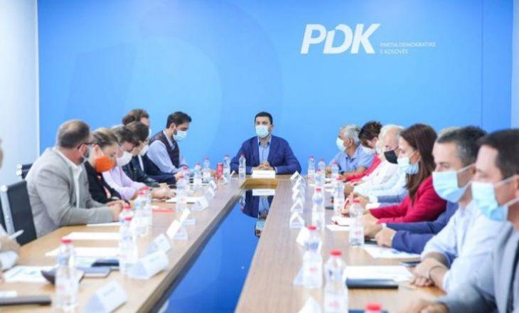 Mblidhet Kryesia e PDK-së: Diskutohet gjendja me pandeminë