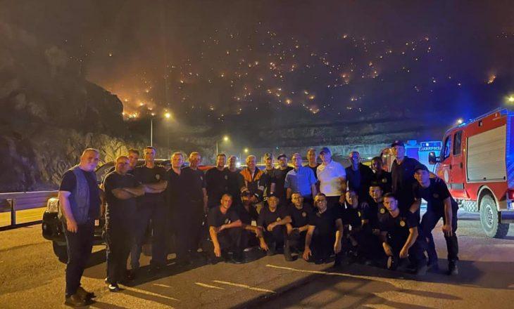 Ministri i Brendshëm për zjarrfikësit që ndihmuan Shqipërinë: Në sytë e tyre pashë vullnet e dashuri