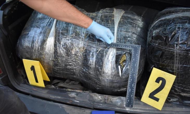 Konfiskohen 31 kg marihuanë në Komoran të Drenasit, arrestohen dy persona