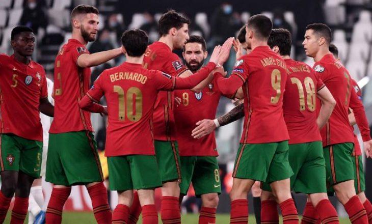 Portugalia publikon listen e lojtarëve të ftuar për ndeshjet e shtatorit