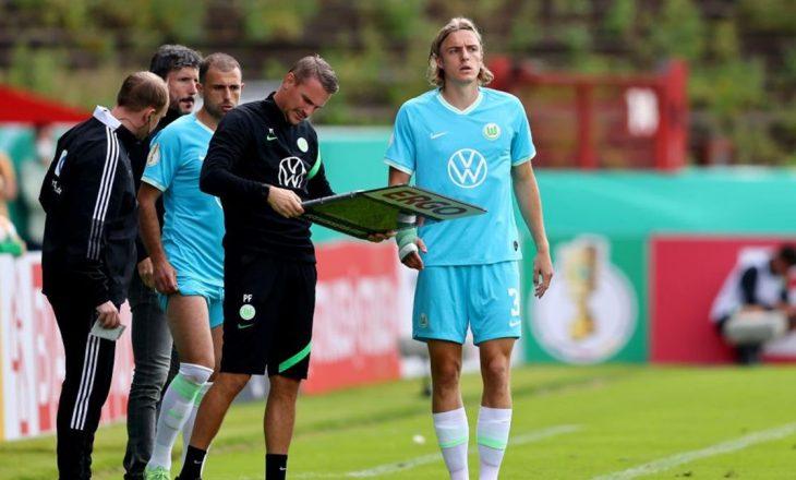 Van Bommel bën gabim të madh, Wolfsburg eleminohet nga Kupa e Gjermanisë