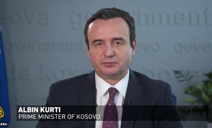 Kurti për Al Jazeera: SHBA-të nuk largohen nga Kosova