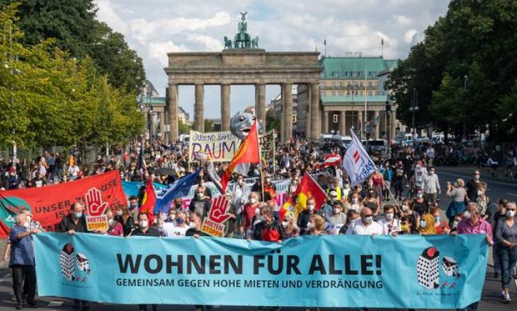 Gjermani: Protestohet kundër çmimeve të larta për qiratë