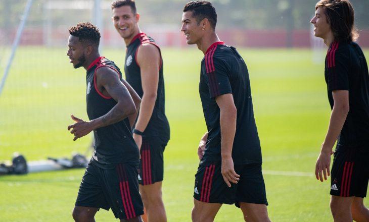 Ronaldo fillon stërvitjet me Manchester United