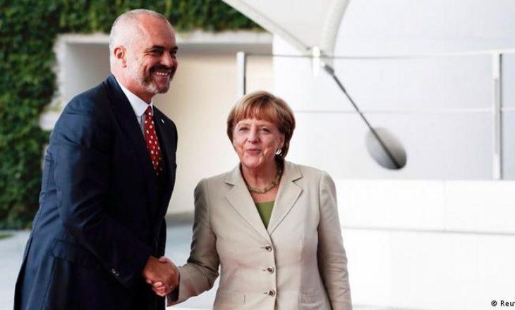 Merkel të martën paradite në Tiranë