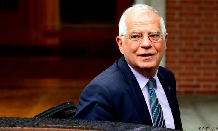 Borrell kontakton me Kurtin dhe Vuçiqin për gjendjen e krijuar me reciprocitet të targave