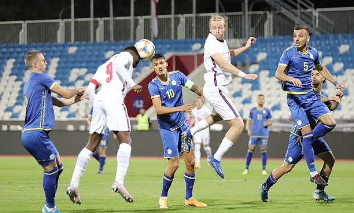 Publikohet formacioni zyrtar i Kosovës U19 kundër Anglisë
