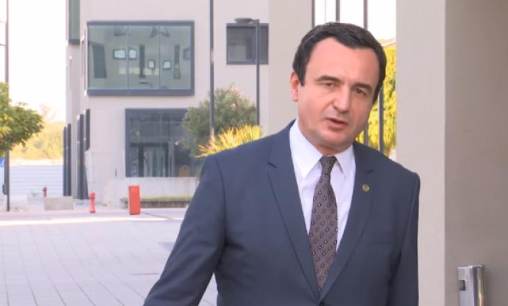 """Kurti: Në takim me Merkelin, nuk na është kërkuar të përfshihemi në """"Ballkanin e Hapur"""""""