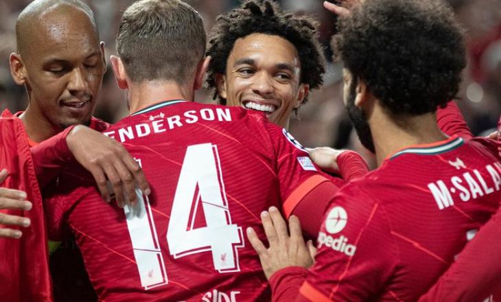 Liverpooli rikthen rezultatin ndaj Milanit