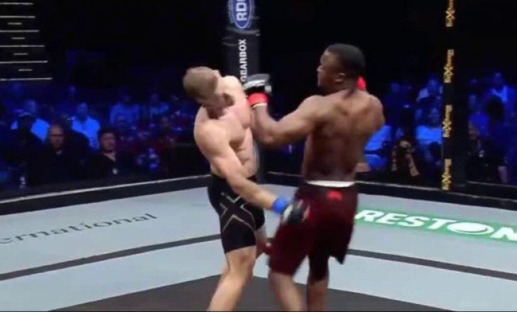 Nokauti i shekullit që për pak sa nuk e la të vdekur luftëtarin e MMA (VIDEO)