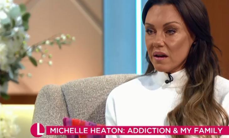 Michelle Heaton shpërthen në lot derisa tregon për problemet që i ka shkaktuar konsumimi i alkoolit