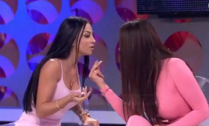 """""""Qepe llapën, të kapi prej flokësh e të nxjerr jashtë"""", plas sherri mes Mikelës dhe Adës, Bruno detyrohet t'i ndajë"""