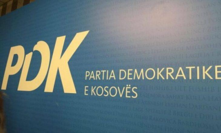 PDK pezullon sot të gjitha aktivitetet politike