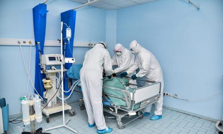 Mbi një mijë pacientë me COVID-19 po trajtohen në spitale, shumica me oksigjeno-terapi