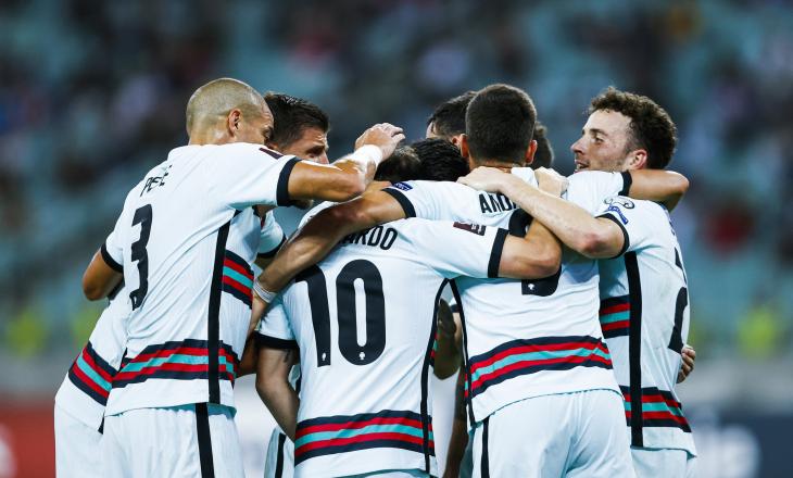 """Portugalia """"rrëmben"""" tre pikë në udhëtim ndaj Azerbajxhanit"""