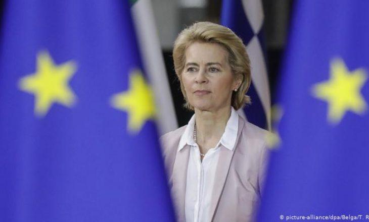 Von der Leyen: Situata në Veri të Kosovës është shqetësuese, dy shtetet të kthehen në dialog