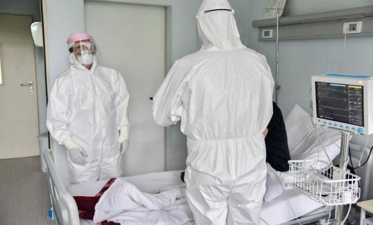 49 pacientë me COVID-19 që po trajtohen në spitale janë në gjendje të rëndë