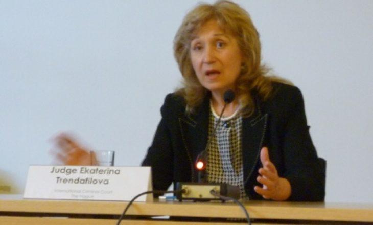 Trendafilova: Mandati i Speciales zgjat deri në njoftimin e Këshillit Evropian