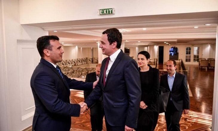 Të enjten takohen Qeveria e Kosovës dhe e Maqedonisë së Veriut