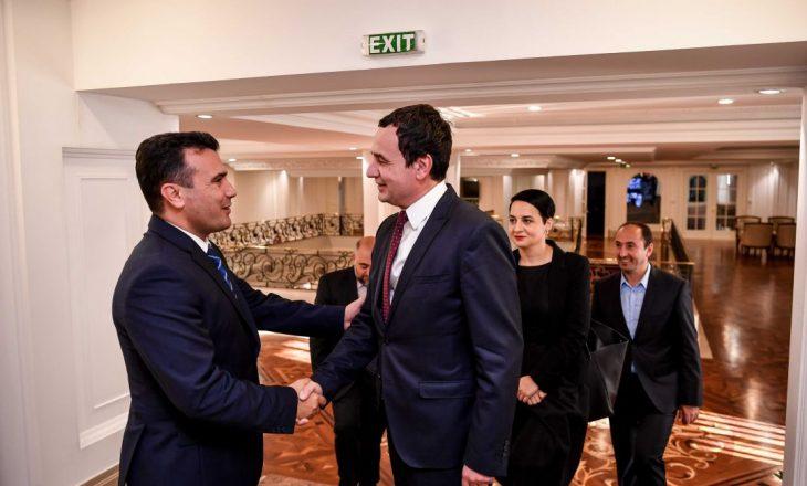 Qeveria e Kosovës dhe ajo e Maqedonisë Veriore mblidhen në Shkup