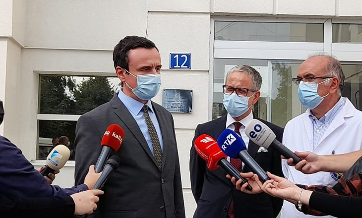 Kurti: Me Brukselin mund të hapim tema, por jo me Serbinë