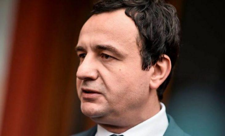 Kurti për televizionin kroat: Problemi është Serbia dhe presidenti i saj